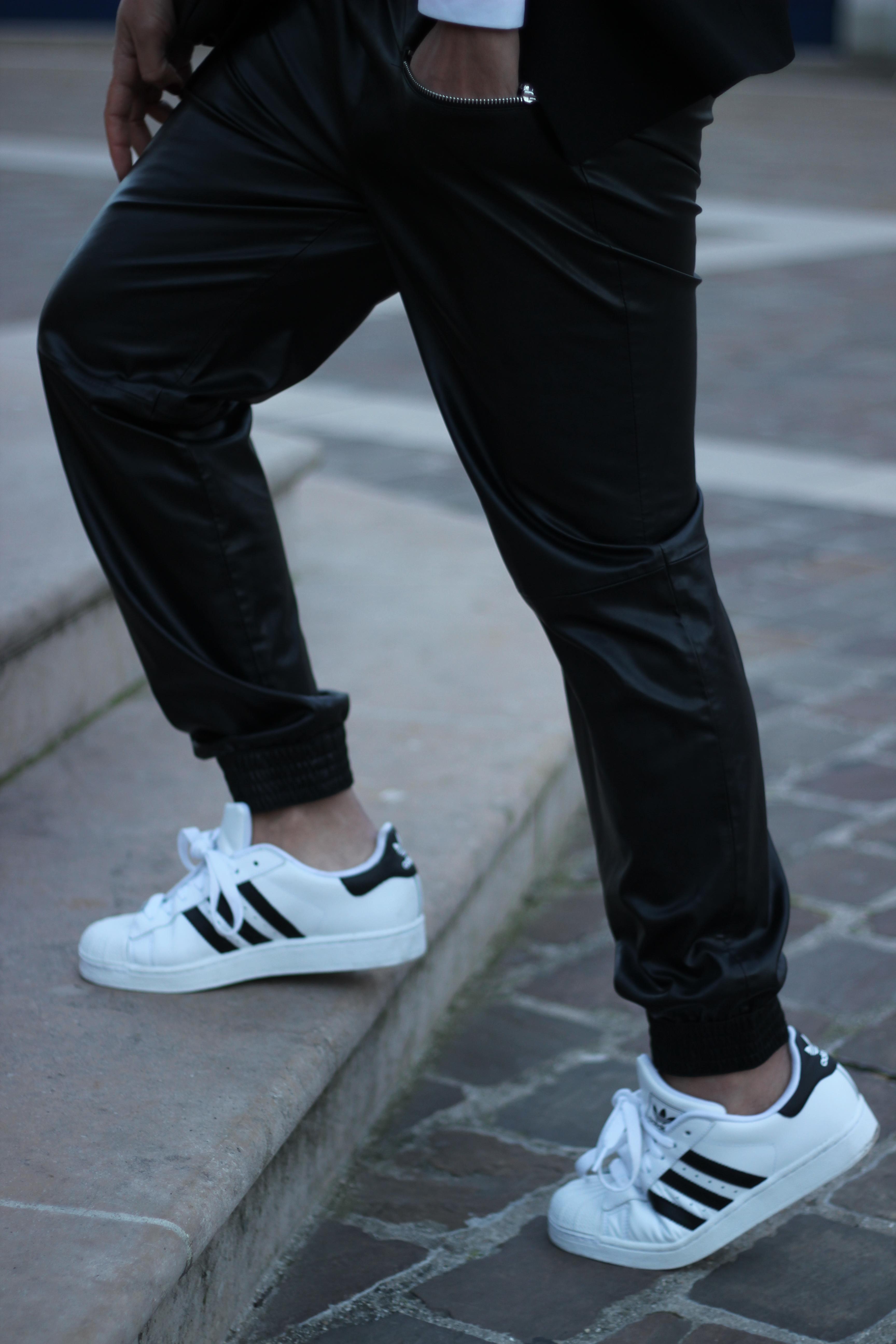 adidas superstar 2 noir femme porté